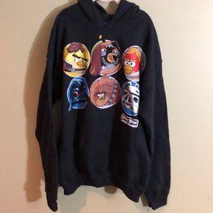 Other - NWOT Star Wars and Angry Bird Sweatshirt